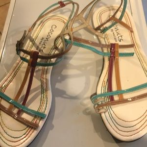 Coconuts by Matisse ankle sandals 8 1/2